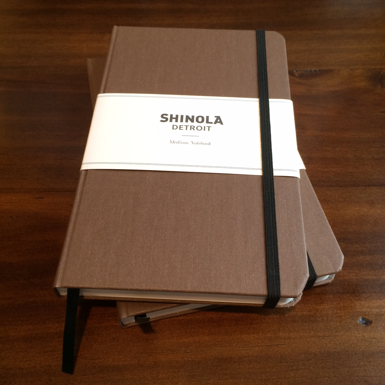Unboxing Shinola Medium Hard Linen Journal